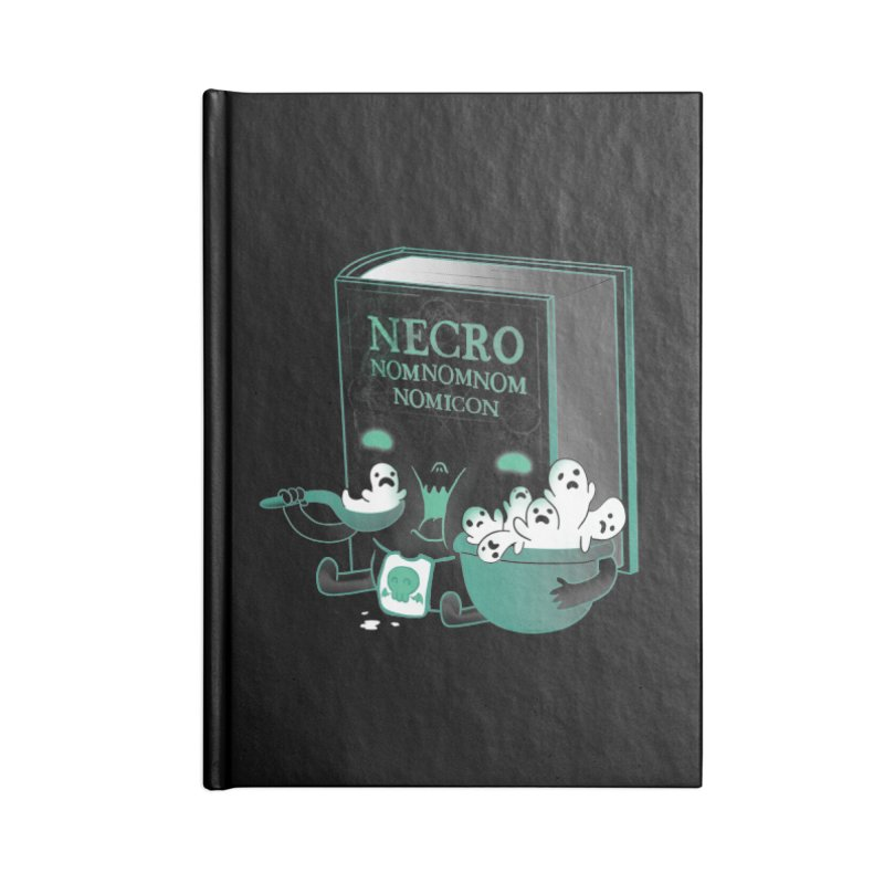 Necronomnomnomicon Accessories Notebook by The Art of Anna-Maria Jung