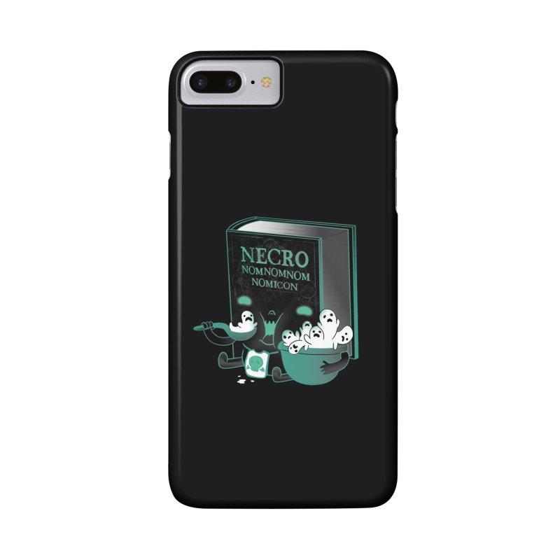Necronomnomnomicon Accessories Phone Case by The Art of Anna-Maria Jung
