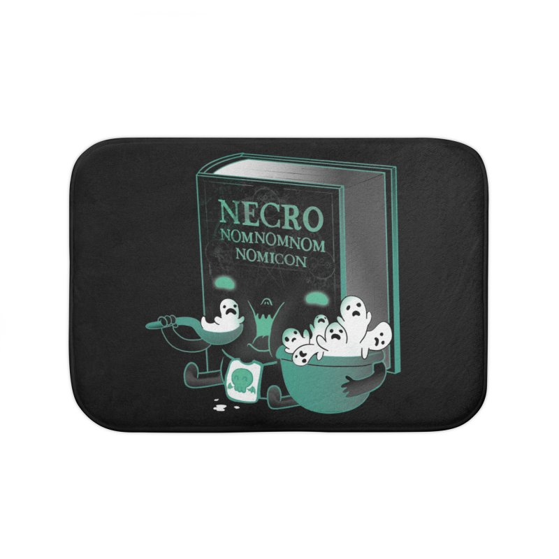 Necronomnomnomicon Home Bath Mat by The Art of Anna-Maria Jung