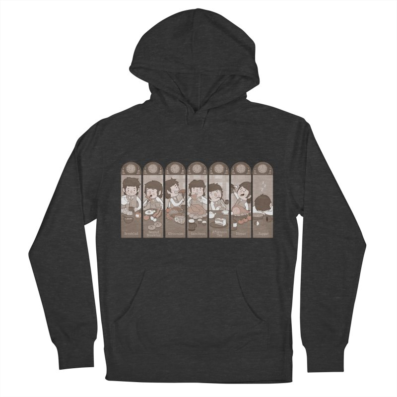 The Seven Daily Meals Women's Pullover Hoody by The Art of Anna-Maria Jung