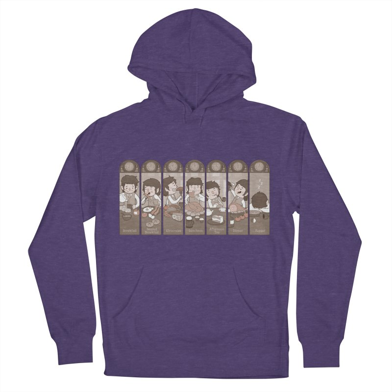 The Seven Daily Meals Women's French Terry Pullover Hoody by The Art of Anna-Maria Jung