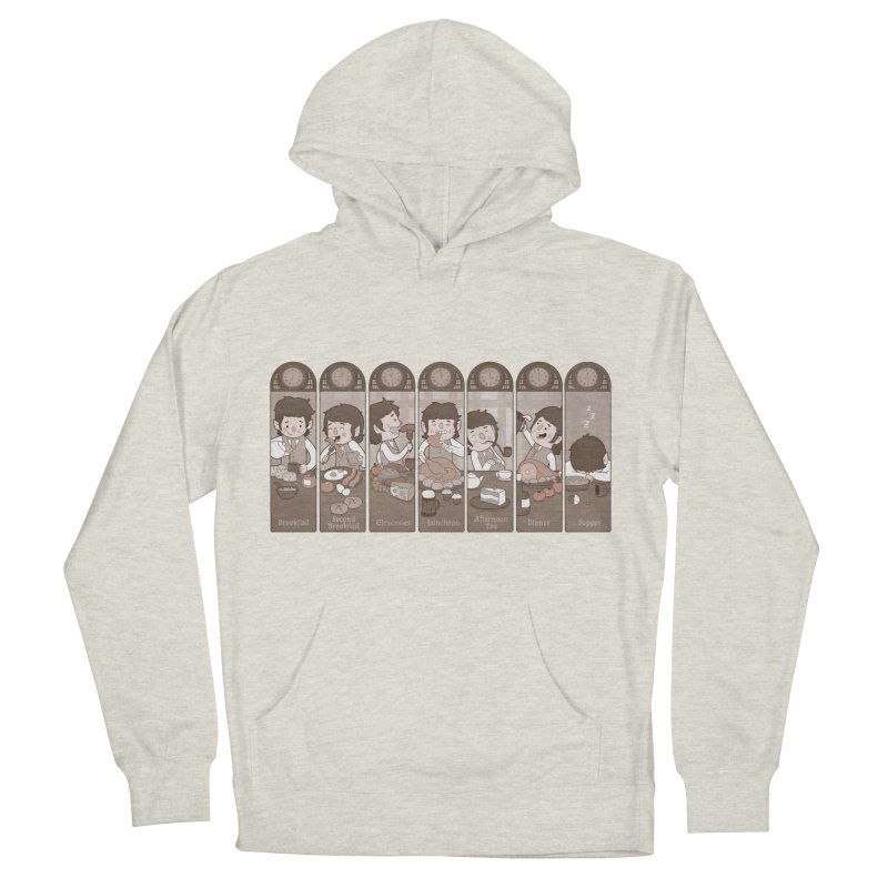 The Seven Daily Meals Men's Pullover Hoody by The Art of Anna-Maria Jung