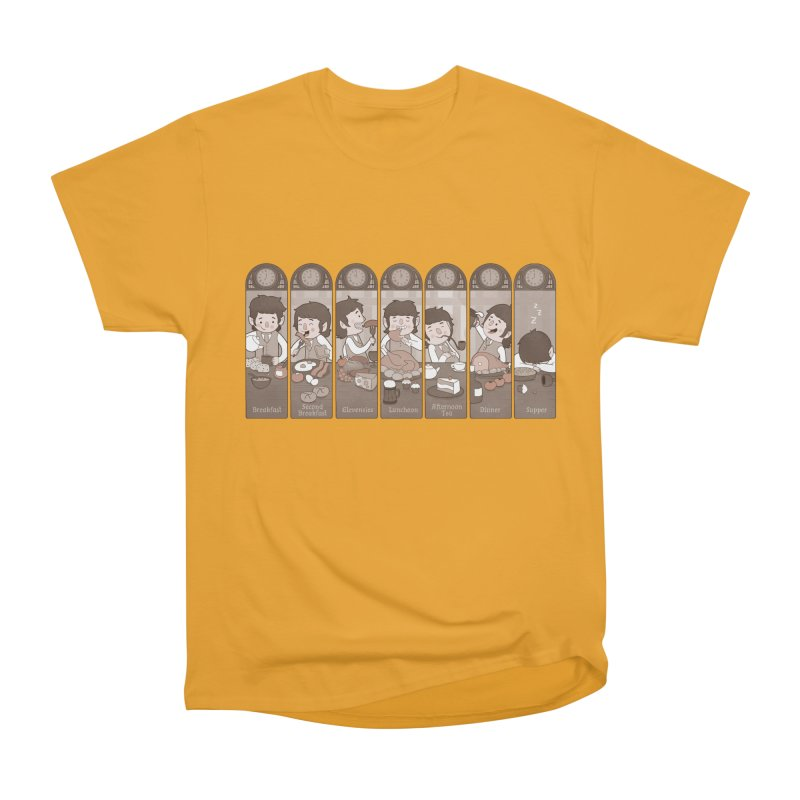 The Seven Daily Meals Men's Classic T-Shirt by The Art of Anna-Maria Jung
