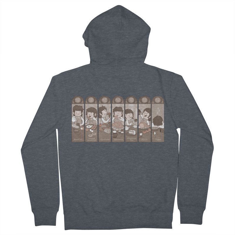 The Seven Daily Meals Women's Zip-Up Hoody by The Art of Anna-Maria Jung