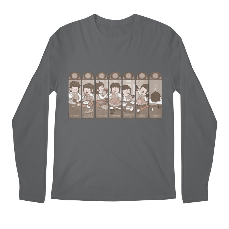 The Seven Daily Meals Men's Longsleeve T-Shirt by The Art of Anna-Maria Jung