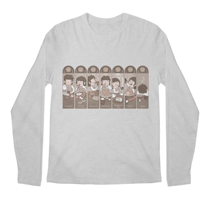 The Seven Daily Meals Men's Regular Longsleeve T-Shirt by The Art of Anna-Maria Jung