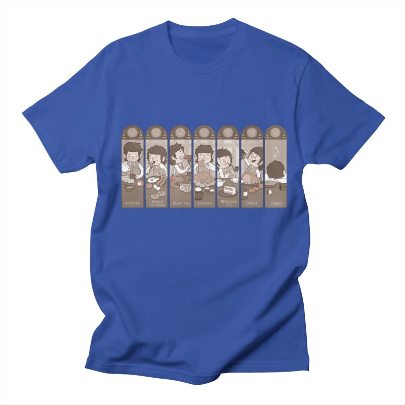 The Seven Daily Meals Men's T-shirt by The Art of Anna-Maria Jung