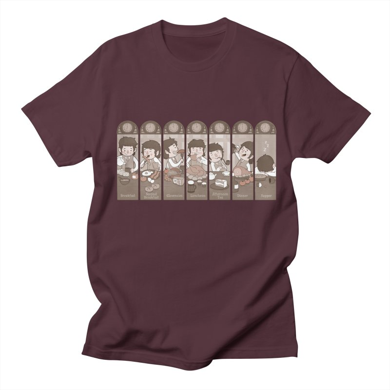 The Seven Daily Meals Women's Unisex T-Shirt by The Art of Anna-Maria Jung