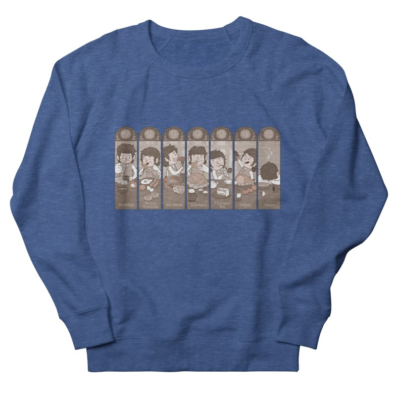 The Seven Daily Meals Women's French Terry Sweatshirt by The Art of Anna-Maria Jung