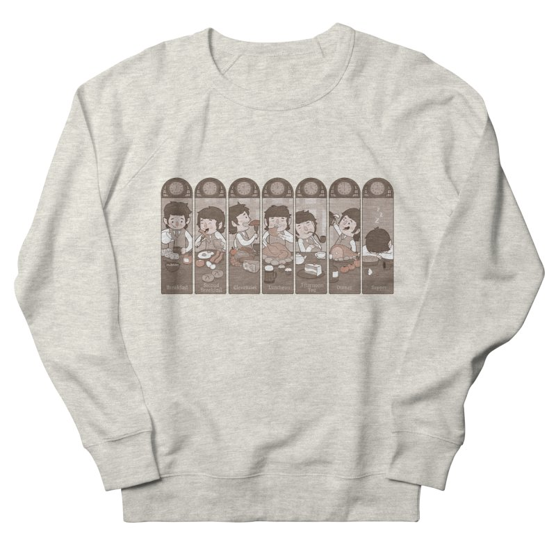 The Seven Daily Meals Women's Sweatshirt by The Art of Anna-Maria Jung