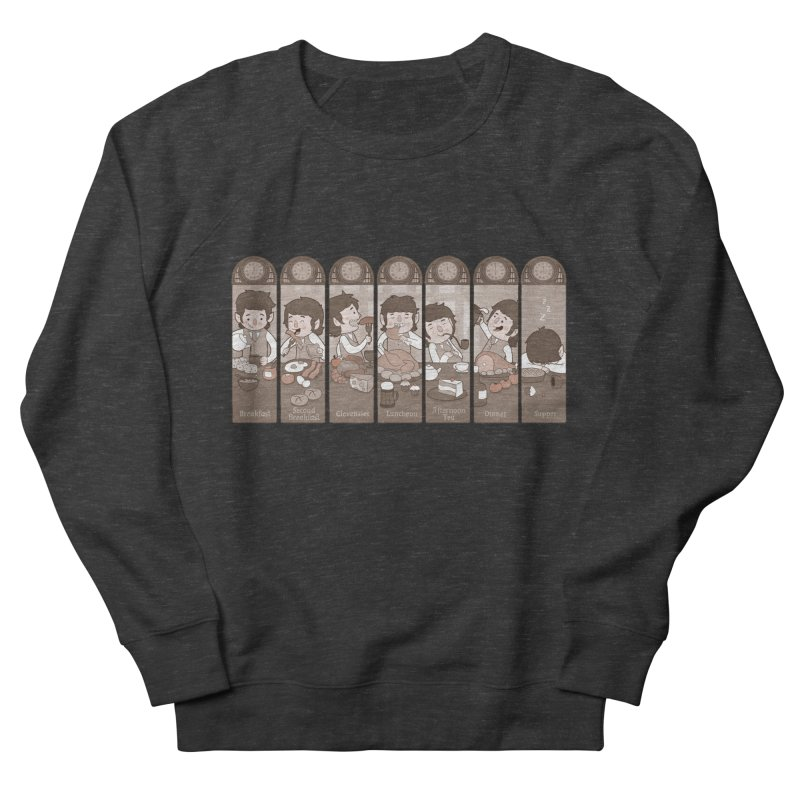 The Seven Daily Meals Men's Sweatshirt by The Art of Anna-Maria Jung