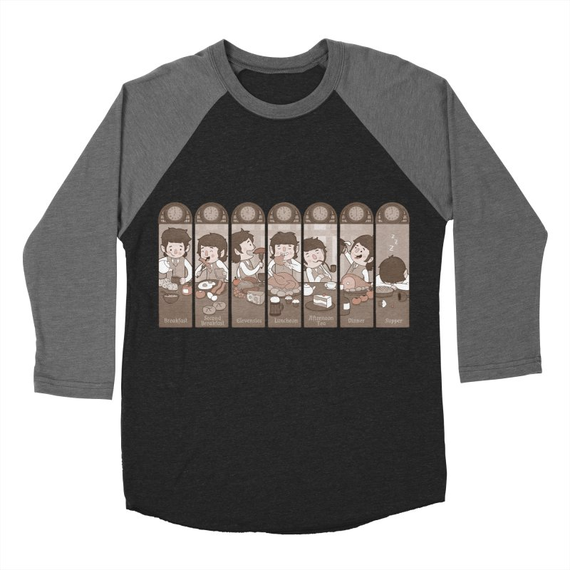 The Seven Daily Meals Women's Baseball Triblend T-Shirt by The Art of Anna-Maria Jung