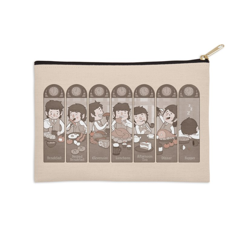 The Seven Daily Meals Accessories Zip Pouch by The Art of Anna-Maria Jung