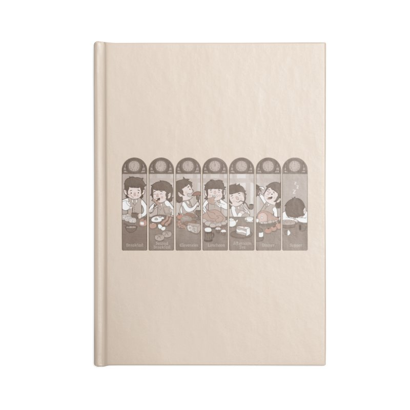 The Seven Daily Meals Accessories Notebook by The Art of Anna-Maria Jung