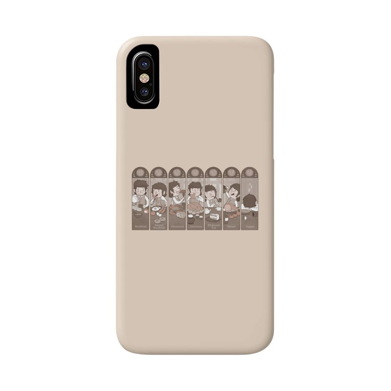 The Seven Daily Meals Accessories Phone Case by The Art of Anna-Maria Jung