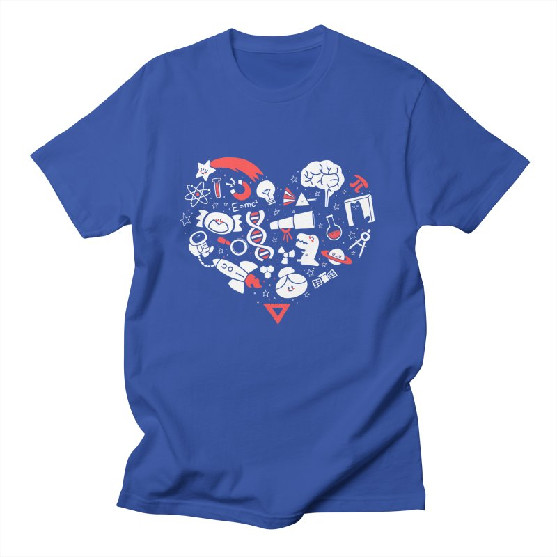 I <3 Science Women's T-Shirt by The Art of Anna-Maria Jung
