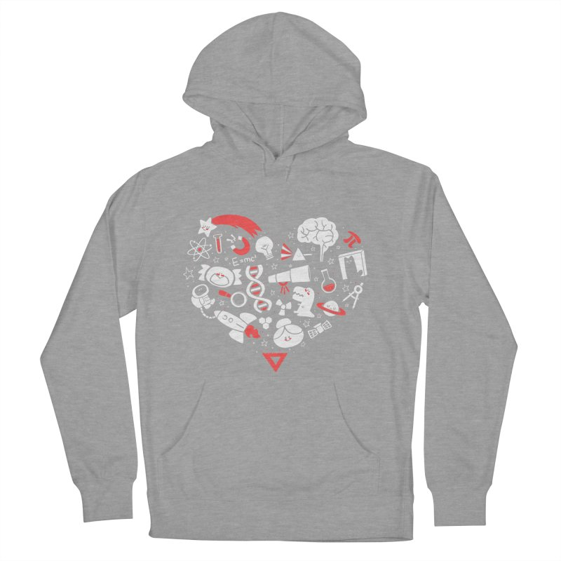 I <3 Science Men's Pullover Hoody by The Art of Anna-Maria Jung