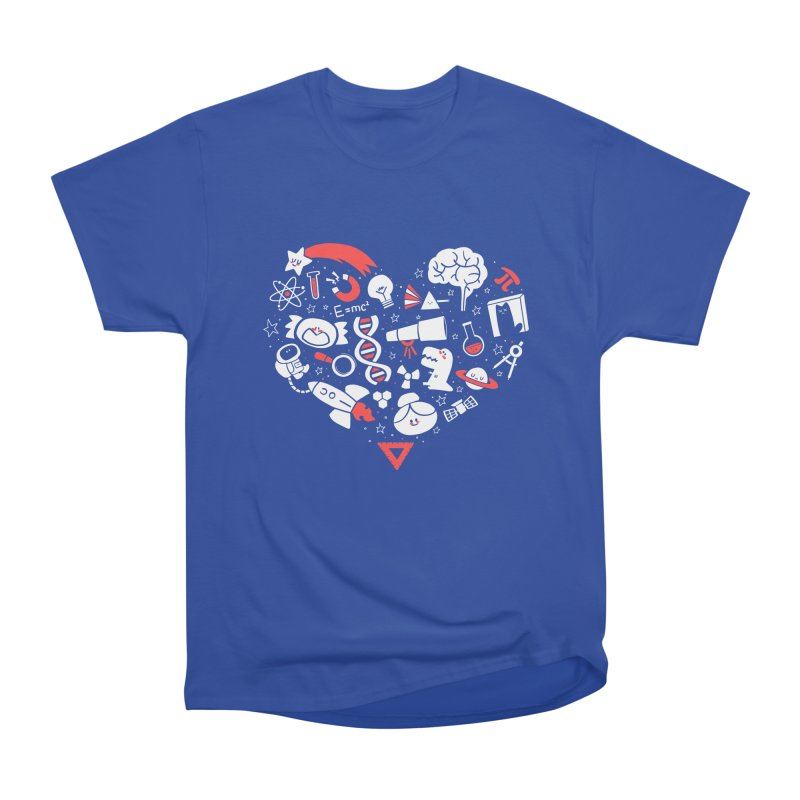 I <3 Science Men's Classic T-Shirt by The Art of Anna-Maria Jung