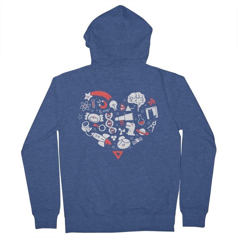 I <3 Science Women's Zip-Up Hoody by The Art of Anna-Maria Jung