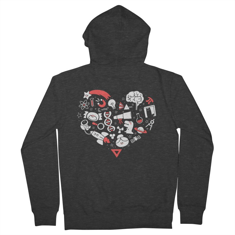 I <3 Science Men's Zip-Up Hoody by The Art of Anna-Maria Jung