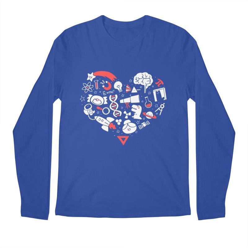 I <3 Science Men's Regular Longsleeve T-Shirt by The Art of Anna-Maria Jung