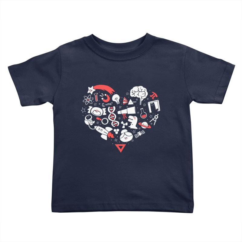I <3 Science Kids Toddler T-Shirt by The Art of Anna-Maria Jung