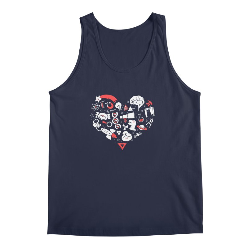 I <3 Science Men's Regular Tank by The Art of Anna-Maria Jung
