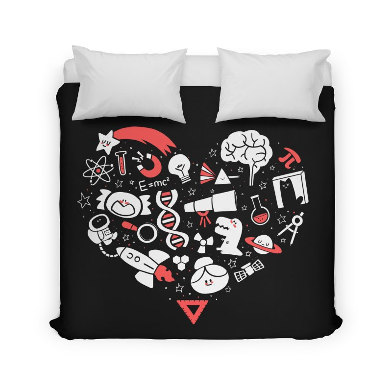 I <3 Science Home Duvet by The Art of Anna-Maria Jung