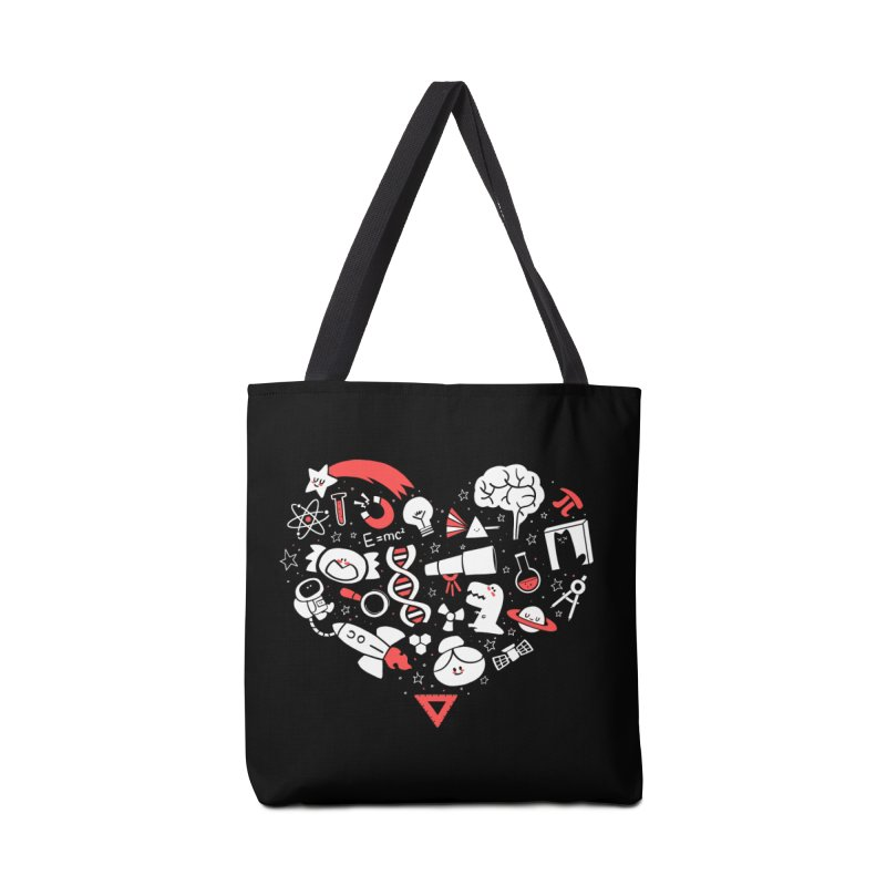 I <3 Science Accessories Bag by The Art of Anna-Maria Jung