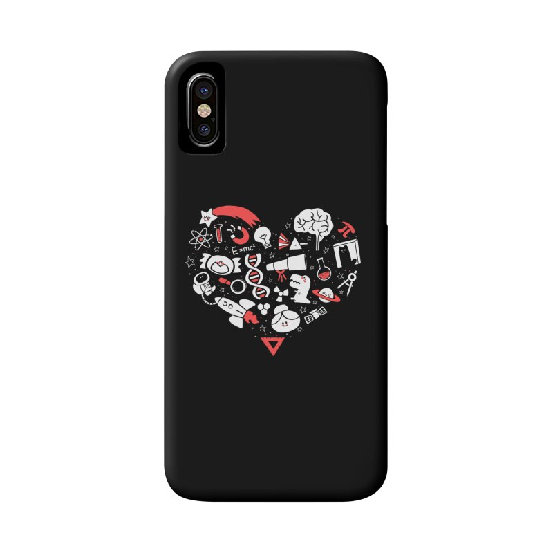 I <3 Science Accessories Phone Case by The Art of Anna-Maria Jung