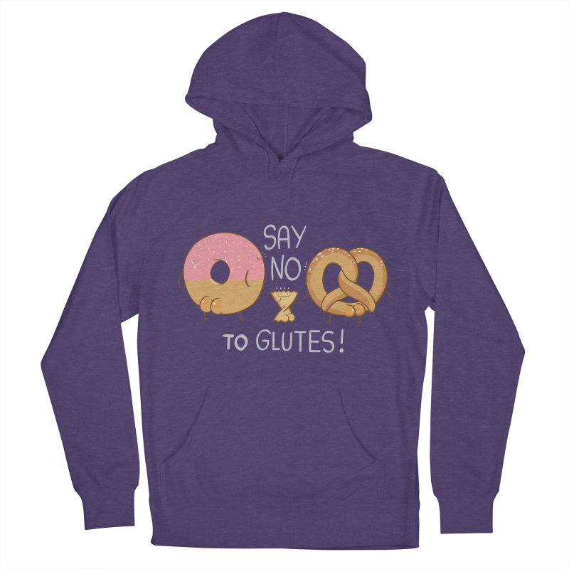 Glutes Intolerant Men's Pullover Hoody by The Art of Anna-Maria Jung