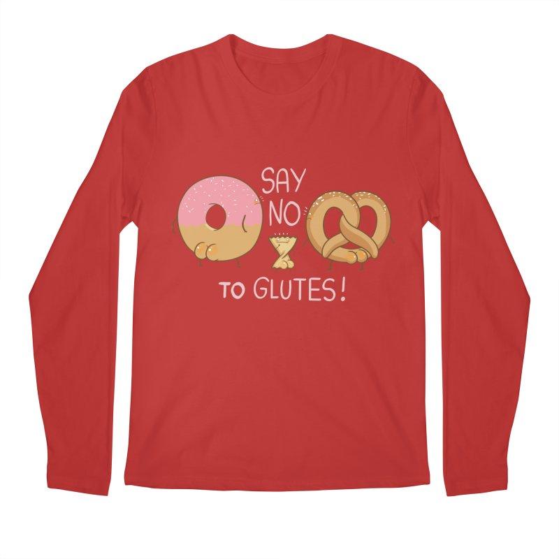 Glutes Intolerant Men's Regular Longsleeve T-Shirt by The Art of Anna-Maria Jung