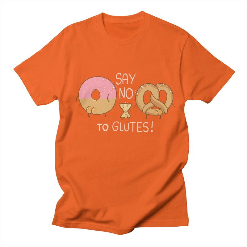 Glutes Intolerant Men's T-shirt by The Art of Anna-Maria Jung