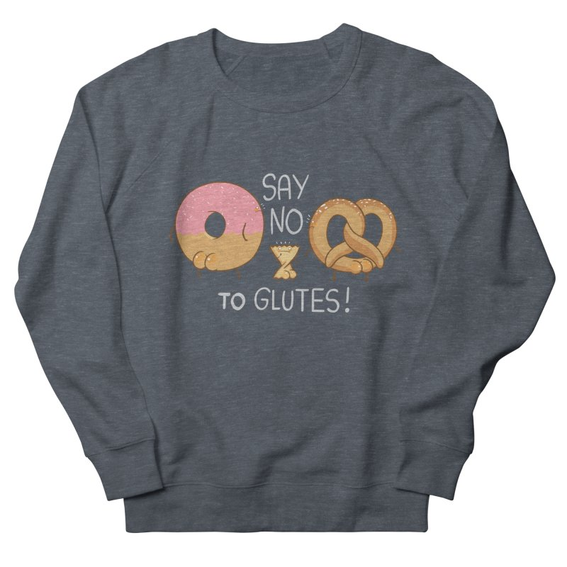 Glutes Intolerant Men's Sweatshirt by The Art of Anna-Maria Jung