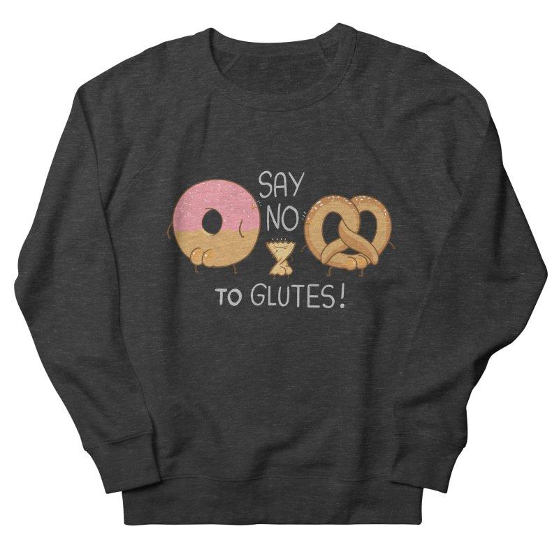 Glutes Intolerant Men's Sweatshirt by The Art of Anna-Maria Jung