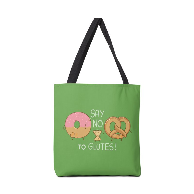 Glutes Intolerant Accessories Bag by The Art of Anna-Maria Jung