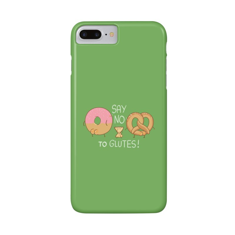 Glutes Intolerant Accessories Phone Case by The Art of Anna-Maria Jung