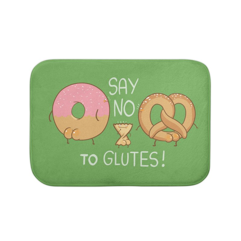 Glutes Intolerant Home Bath Mat by The Art of Anna-Maria Jung