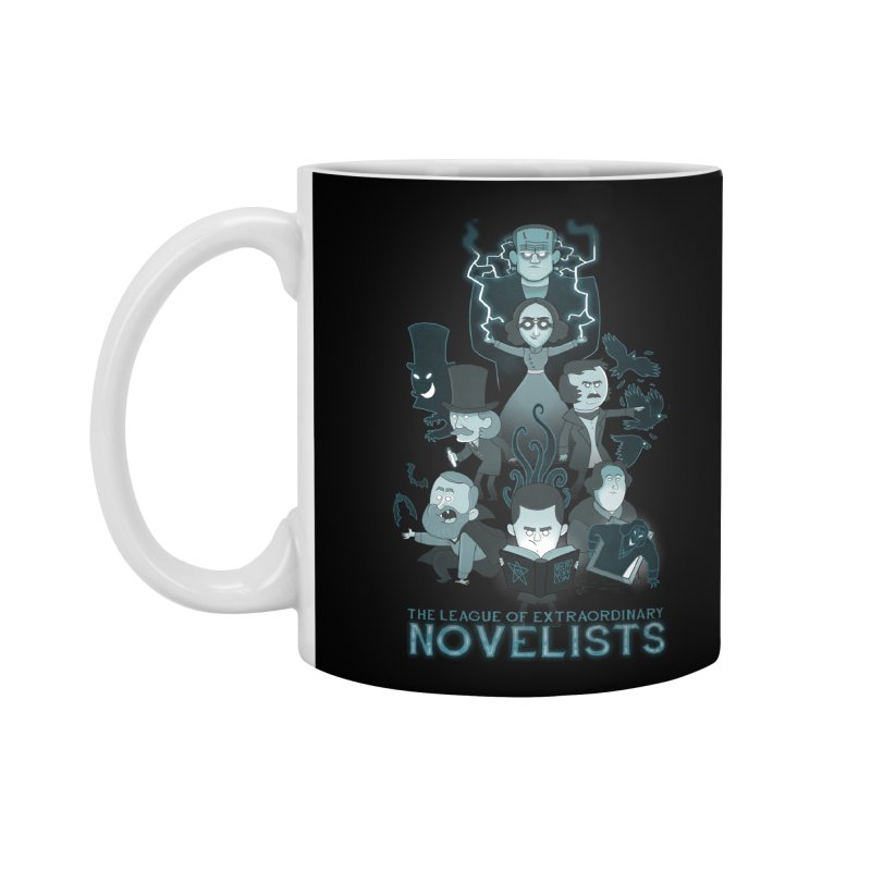 Extraordinary Novelists Accessories Mug by The Art of Anna-Maria Jung