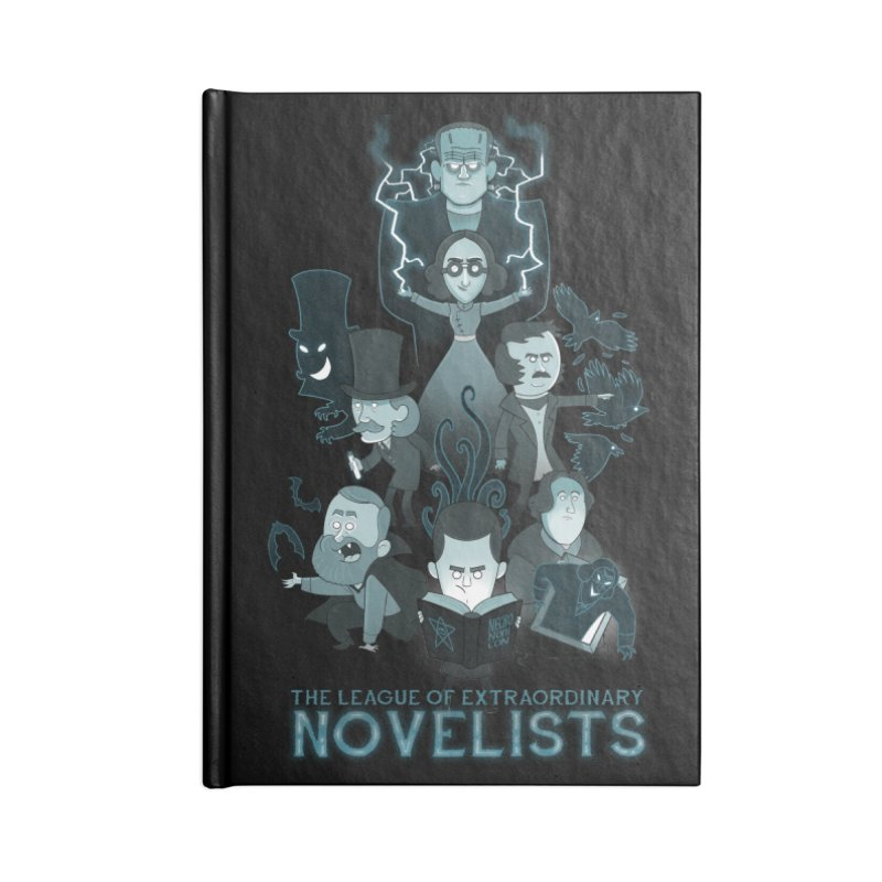 Extraordinary Novelists Accessories Notebook by The Art of Anna-Maria Jung