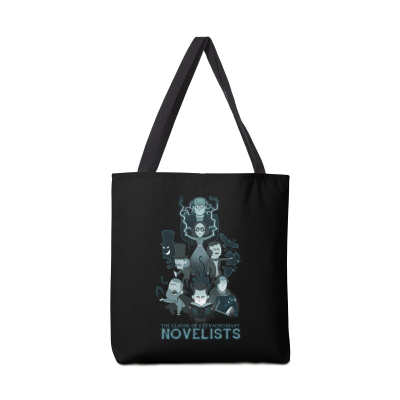 Extraordinary Novelists Accessories Bag by The Art of Anna-Maria Jung