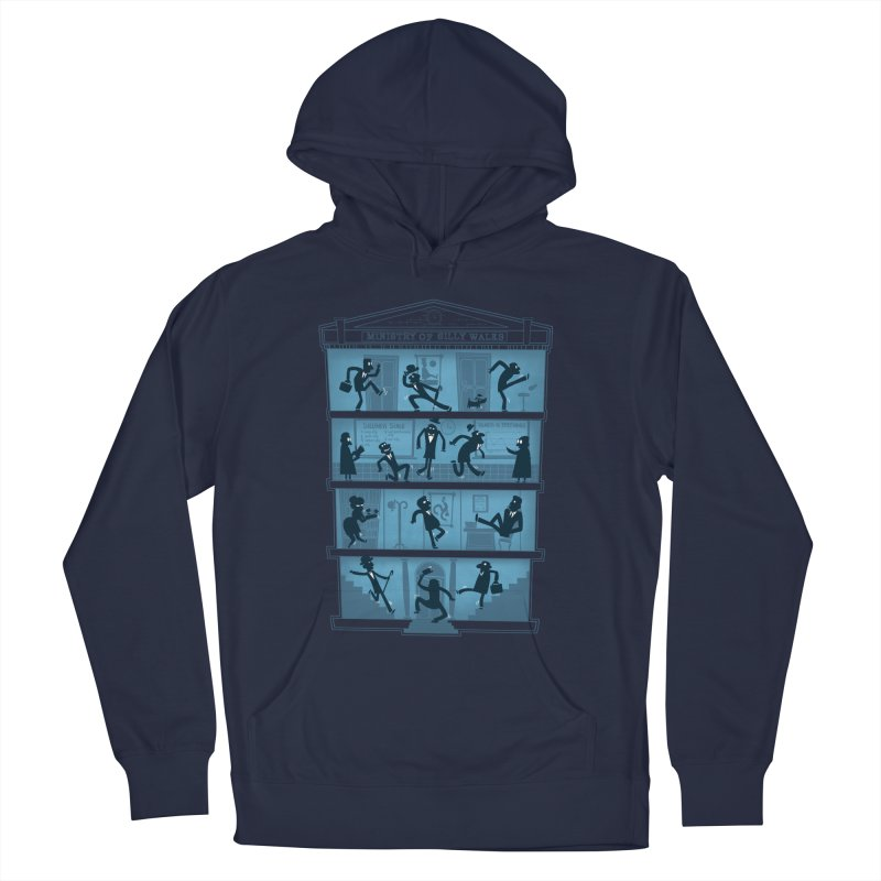 Silly Walking Men's Pullover Hoody by The Art of Anna-Maria Jung