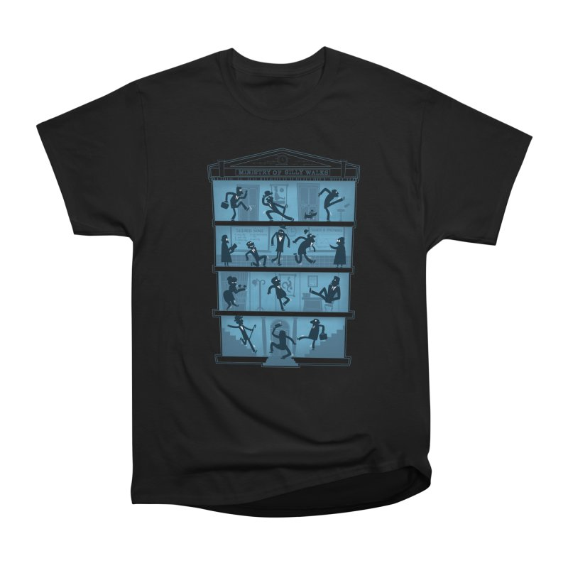 Silly Walking Men's Classic T-Shirt by The Art of Anna-Maria Jung