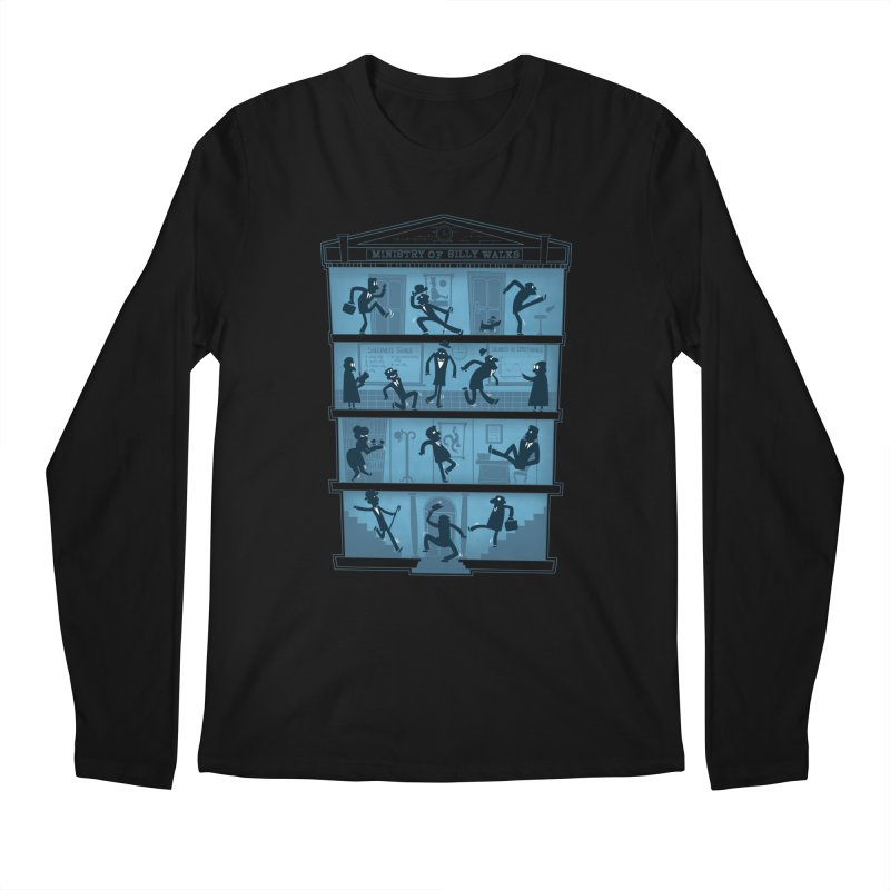Silly Walking Men's Longsleeve T-Shirt by The Art of Anna-Maria Jung