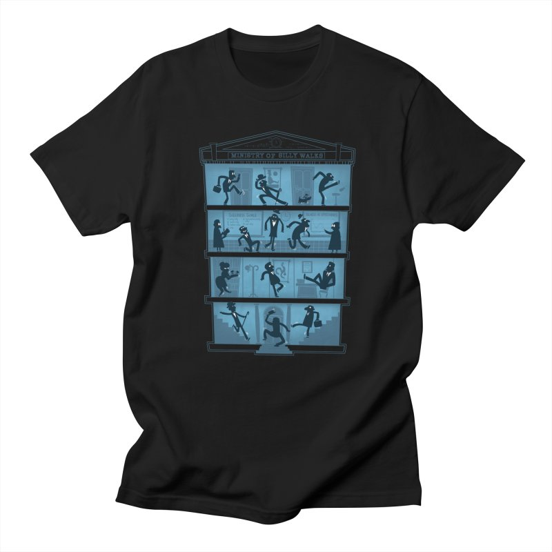 Silly Walking Men's T-Shirt by The Art of Anna-Maria Jung