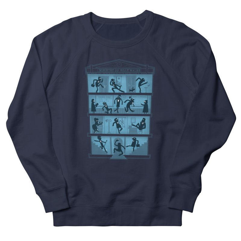 Silly Walking Men's Sweatshirt by The Art of Anna-Maria Jung