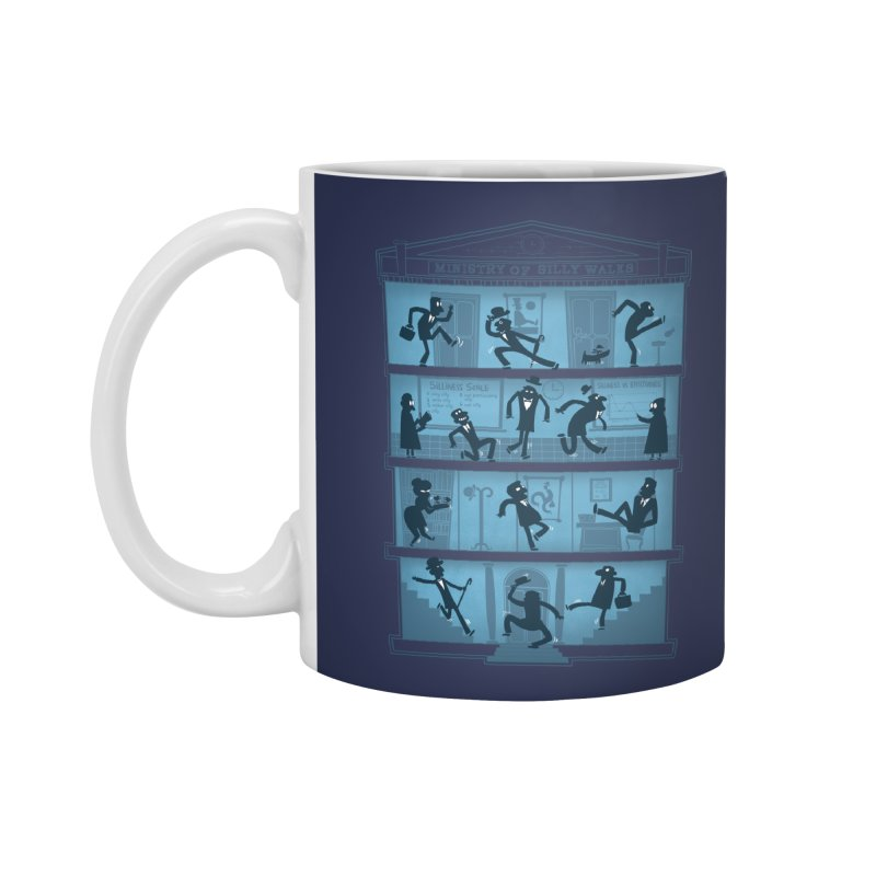 Silly Walking Accessories Mug by The Art of Anna-Maria Jung