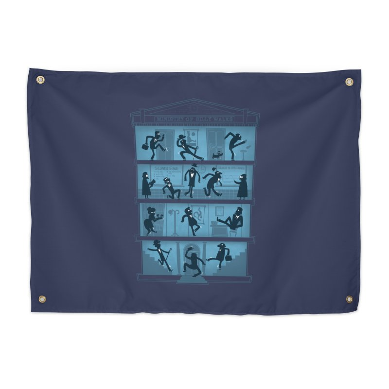 Silly Walking Home Tapestry by The Art of Anna-Maria Jung