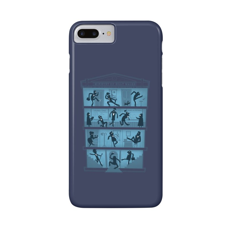 Silly Walking Accessories Phone Case by The Art of Anna-Maria Jung