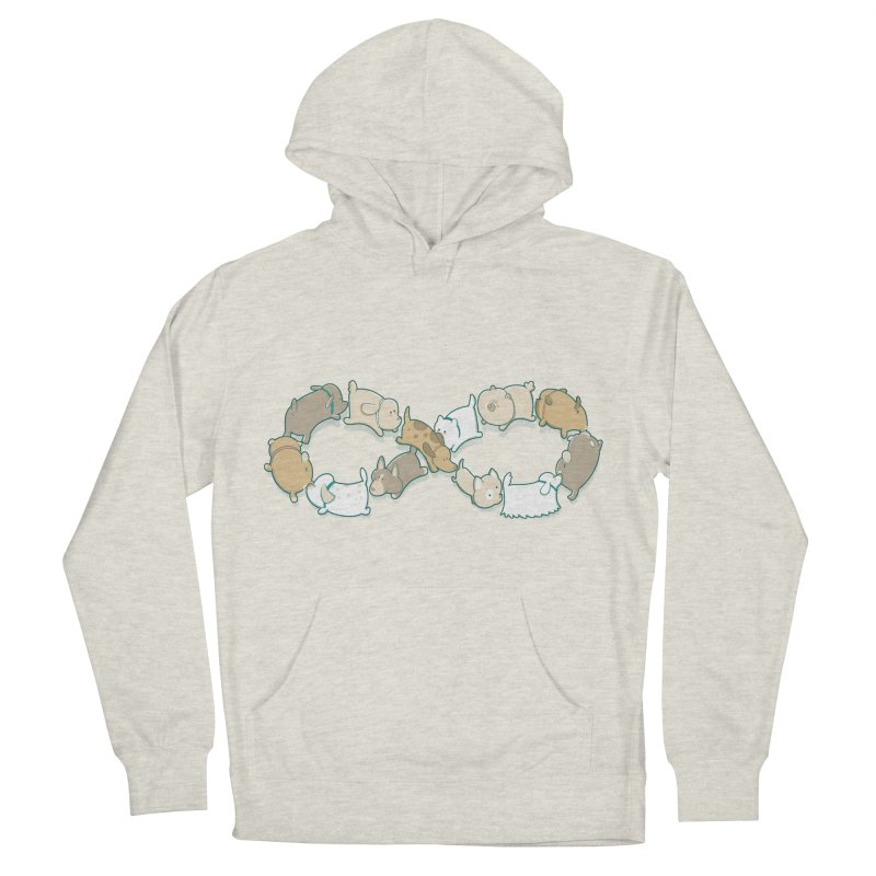Moebis Butt Sniff Women's French Terry Pullover Hoody by The Art of Anna-Maria Jung